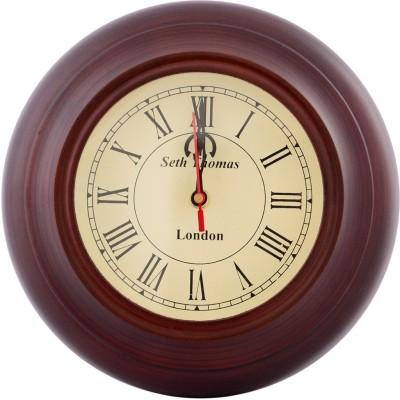 Indigocart Analog 23 cm Dia Wall Clock