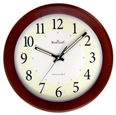 Wood Craft Analog Wall Clock