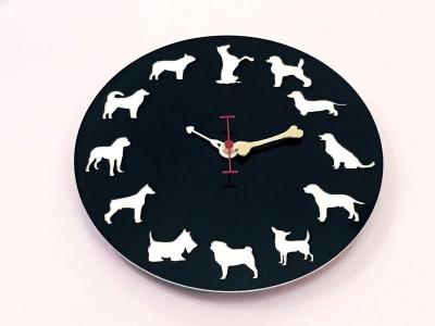 Fufuh Analog 27.94 cm Dia Wall Clock