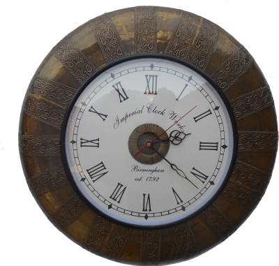 Imperial Clock Works Analog 37.5 cm Dia Wall Clock