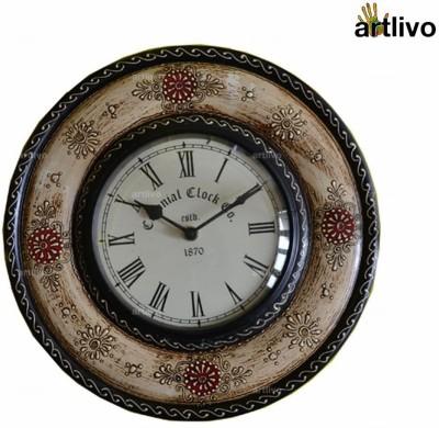 Artlivo Analog 30 cm Dia Wall Clock