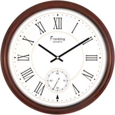 Frankling Analog 40 cm Dia Wall Clock