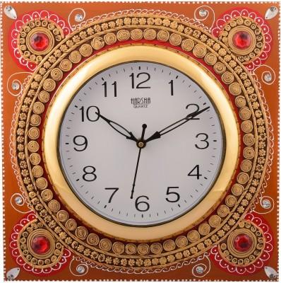 eCraftIndia Analog 31 cm Dia Wall Clock