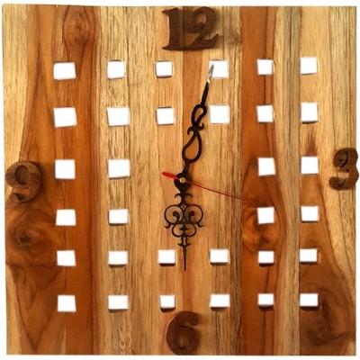 Simple Woods Analog Wall Clock