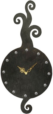 Butterfly Homes Analog Wall Clock