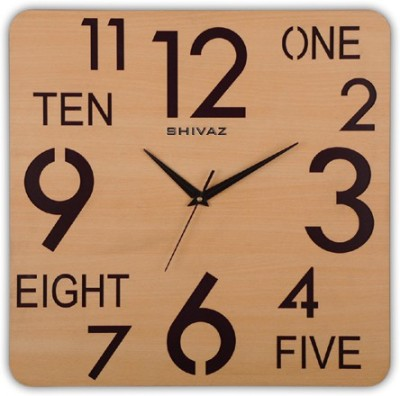 Shivaz Analog Wall Clock