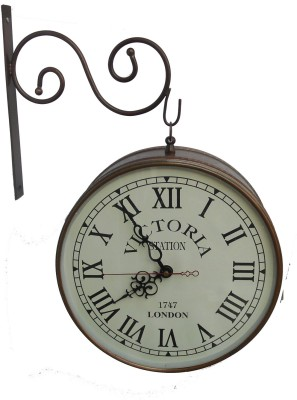 HANDICRAFT Analog 21.4 cm Dia Wall Clock