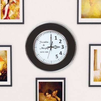 Home Sparkle Analog Wall Clock
