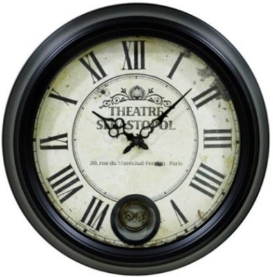Riva Analog 43 cm Dia Wall Clock