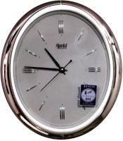 ajanta wall clock Analog Wall Clock(shiny silver)
