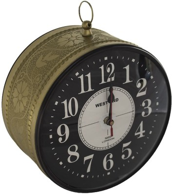Sutra Décor Analog 15 cm Dia Wall Clock