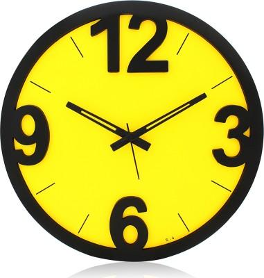 Fiesta S4 Trendy 3D Designer Analog 27 cm Dia Wall Clock
