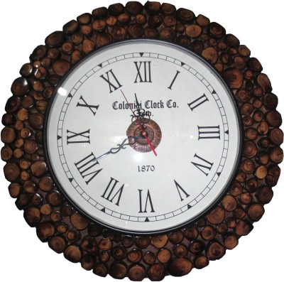 coloniai clock company Analog Wall Clock