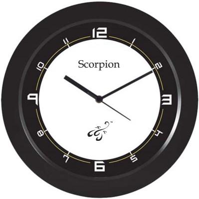 ScorpionV Analog 28 cm Dia Wall Clock
