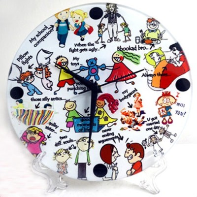 Exciting Lives Analog Wall Clock