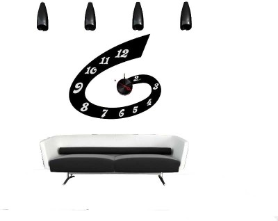 The Dezign Lounge Analog Wall Clock