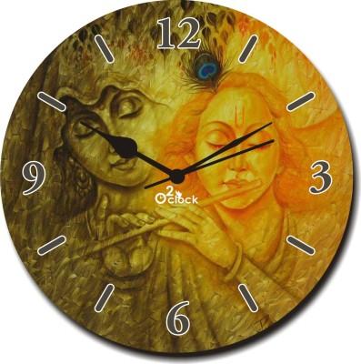 2 O Clock Analog 30 cm Dia Wall Clock