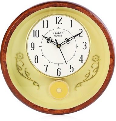 Fieesta Plaza Analog 28 cm Dia Wall Clock