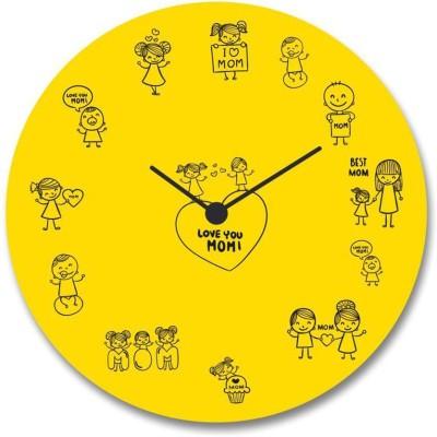 Giftsmate Analog 30.48 cm Dia Wall Clock