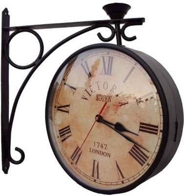 India house Analog 20 cm Dia Wall Clock