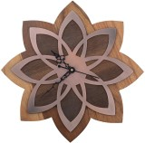 Kalakruti Clocks Analog Wall Clock (Brow...