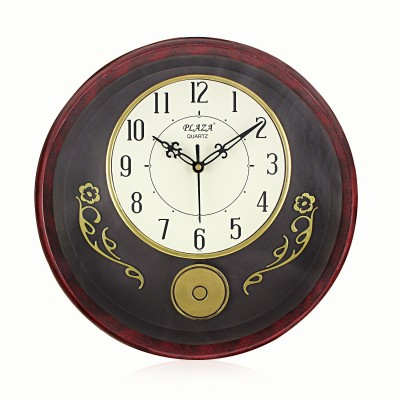 Fieesta Plaza Analog 32 cm Dia Wall Clock