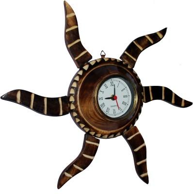 Indoart Analog 26 cm Dia Wall Clock