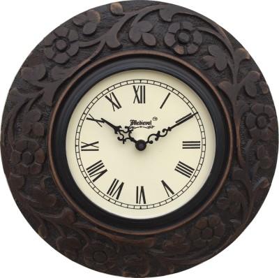 Medieval India Analog 30.48 cm Dia Wall Clock