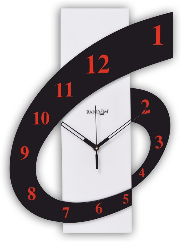 Random Analog Wall Clock(Multicolor, Without Glass)