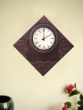 Marwar Stores Analog Wall Clock (Shiny B...