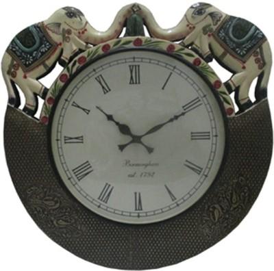 Antique Castle Analog 45 cm Dia Wall Clock