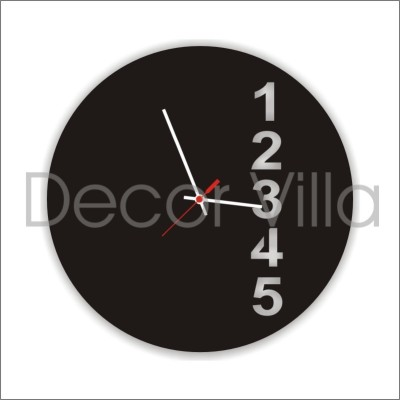 Decor Villa Analog 30 cm Dia Wall Clock