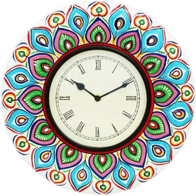 CraftJunction Analog 31 cm Dia Wall Clock