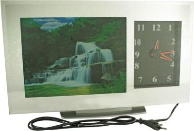 SJ Analog-Digital Wall Clock