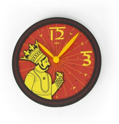 Mad(e) in India Analog 24.13 cm Dia Wall Clock