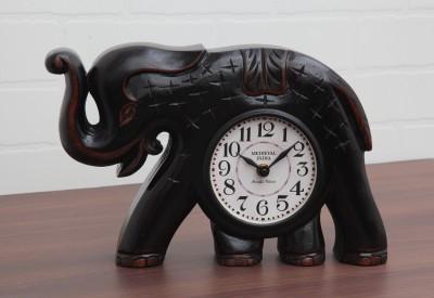 Medieval India Analog 11.4 cm Dia Wall Clock