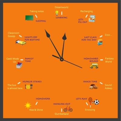 10 Am Word Wall Clock