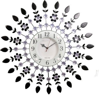 Wallace 112Metal-Glass Designer Analog 58 cm Dia Wall Clock