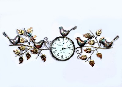 Village Clock Analog Wall Clock
