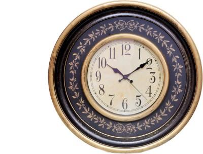 Wooden Analog-Digital Wall Clock
