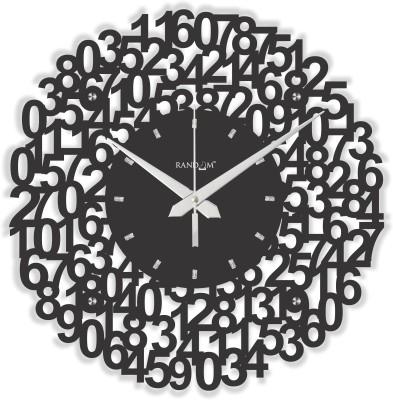 Random Analog 38.1 cm Dia Wall Clock
