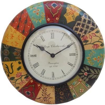 Indune Analog 30 cm Dia Wall Clock