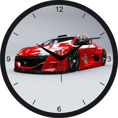 PAVIKA CREATIONS Analog 28 Cm Dia Wall Clock