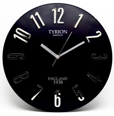 TYRION WATCH Co. Analog 30 cm Dia Wall Clock