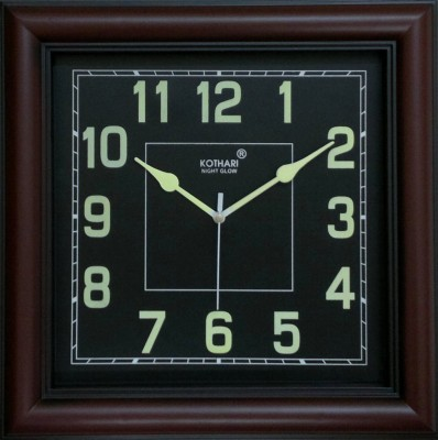 Kothari Night Glow Analog Wall Clock