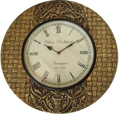 Khushal Analog 30.48 cm Dia Wall Clock