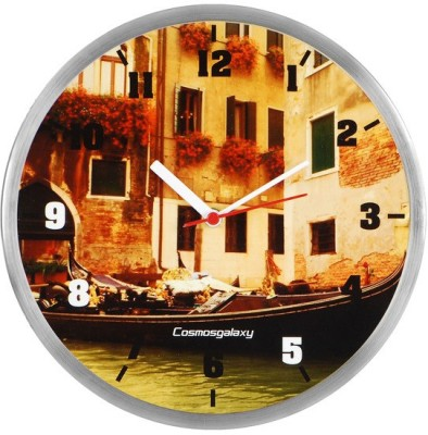 Cosmosgalaxy Analog 25.5 cm Dia Wall Clock