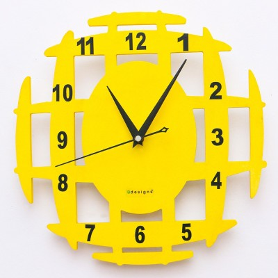 B designs Analog Wall Clock