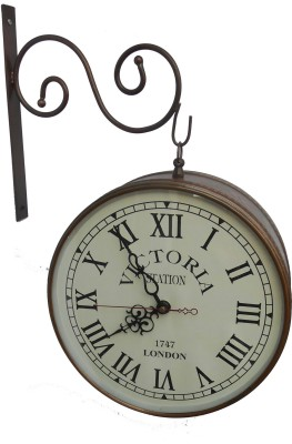 HANDICRAFT Analog 26 cm Dia Wall Clock