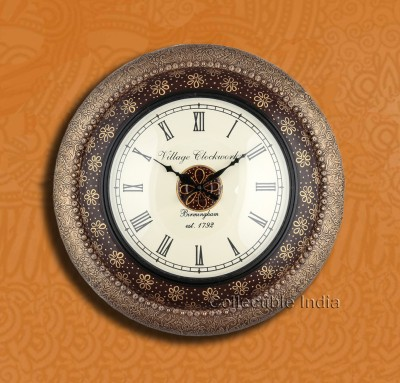 Collectible India Analog 50 cm Dia Wall Clock